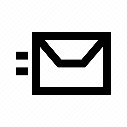 delivery, envelope, express, fast, mail, service icon
