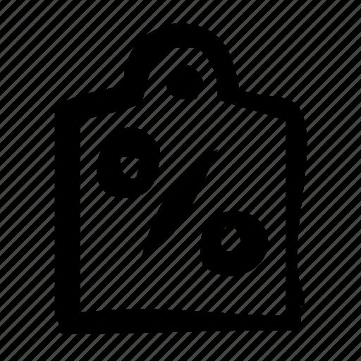 discount, low, percentage, price, sale icon