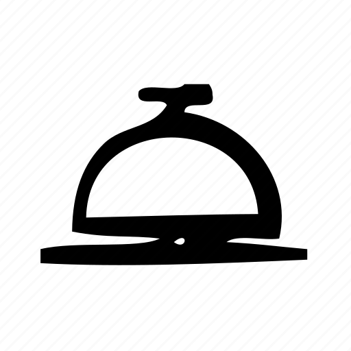 alarm, bell, hotel, ring, service icon