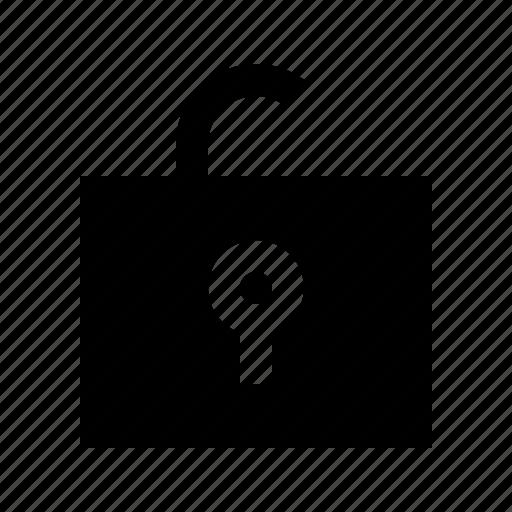 antivirus, protection, secure, security, unlock icon