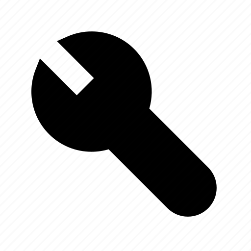 configure, individual, mechanic, work, wrench icon