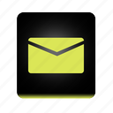 email, letter, mail, message, speech icon