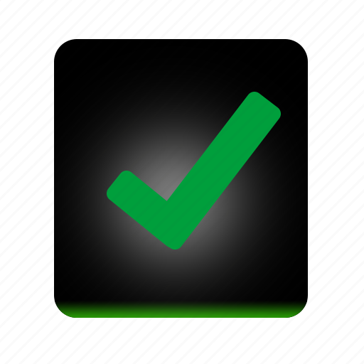 accept, check, good, green, ok, success, valid, yes icon