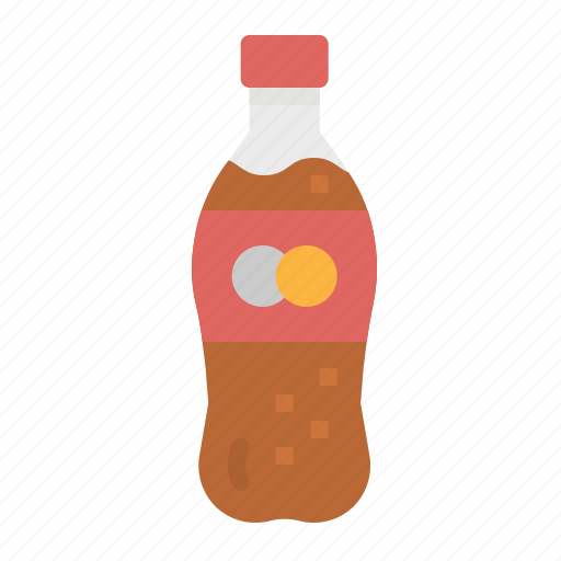 bottle, cola, drink, soda, soft icon