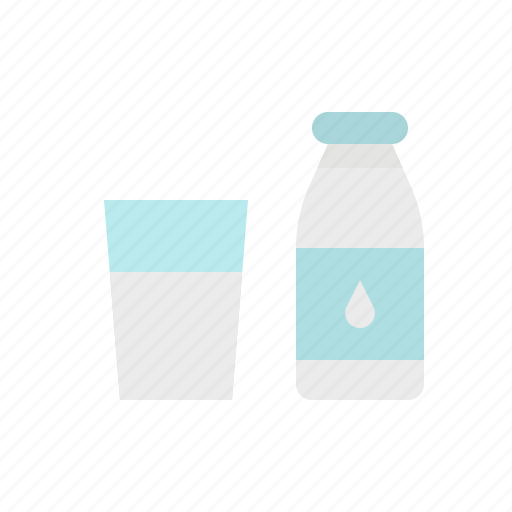 Bottle, cow, drink, food, milk icon - Download on Iconfinder