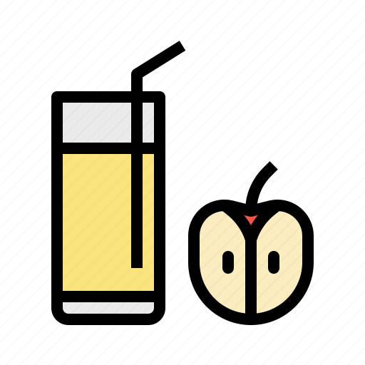 apple, drink, fruit, healthy, juice icon