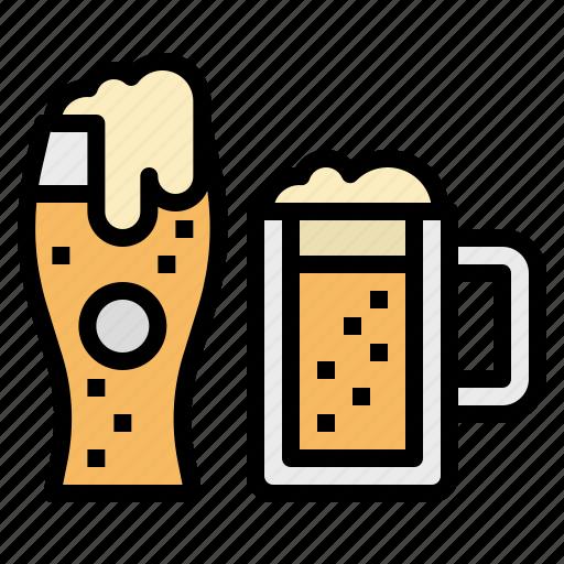 beer, cup, drink, food, mug icon