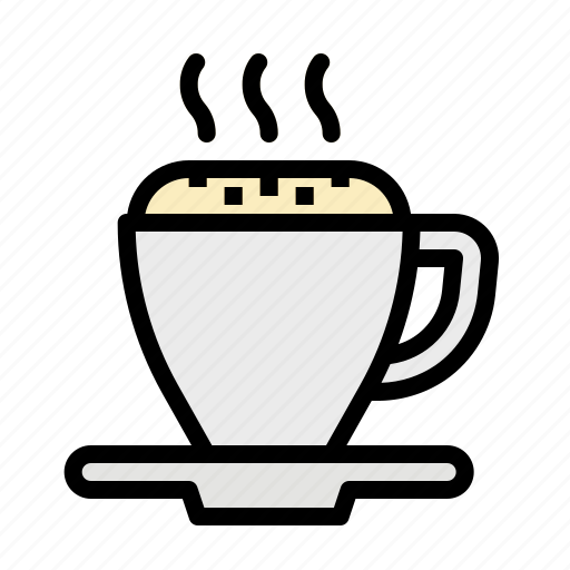 Cappuccino, coffee, cup, hot, mug icon - Download on Iconfinder