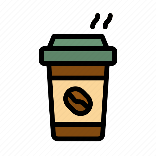 Away, coffee, cup, paper, take icon - Download on Iconfinder