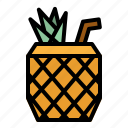 alcohol, cocktail, drinks, juice, pineapple