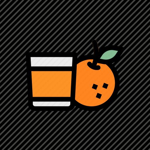 drink, fruit, healthy, juice, orange icon