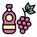 beverage, drink, grape, juice, wine