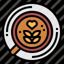 art, coffee, drink, food, hot, latte