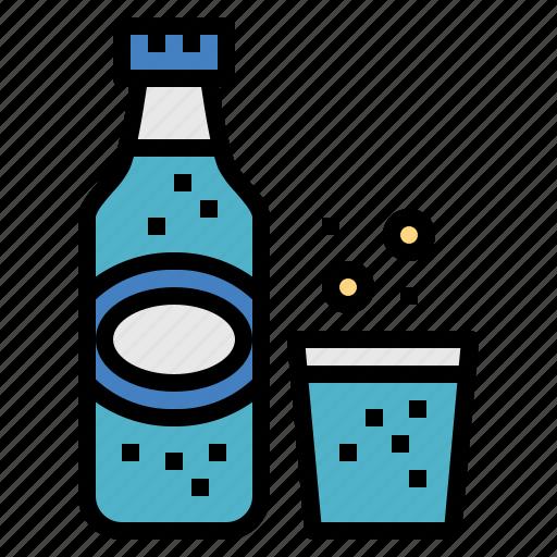 drink, glass, lemonade, soda icon
