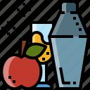 alcohol, beverage, cocktail, drink, juice, shaker