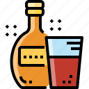 alcohol, beverage, bottle, drink, rum, water, whiskey icon