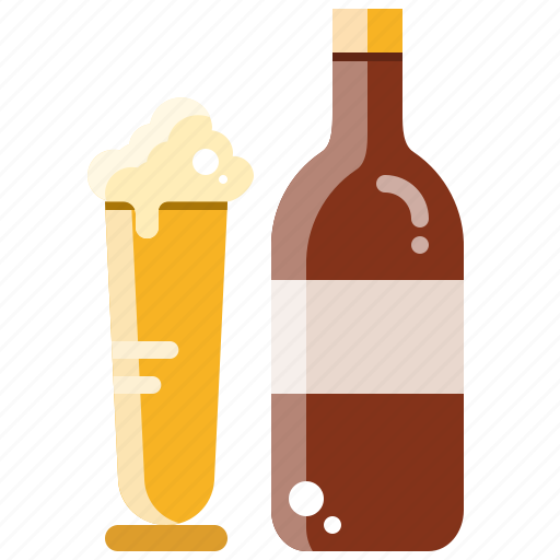 alcohol, beer, bottle, drink, party icon