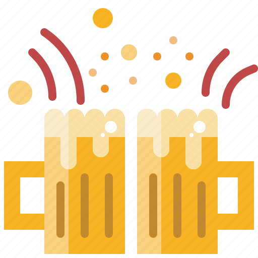 alcohol, beer, beverage, celebrate, drink, party icon