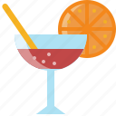 alcohol, beverage, cocktail, drink, party, water icon