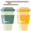 chocolate, coffee, drink, hot, tea, water icon
