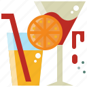 alcohol, beverage, cocktail, drink, water icon