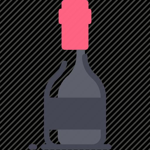 beverage, bottle, cocktail, drink, wine icon