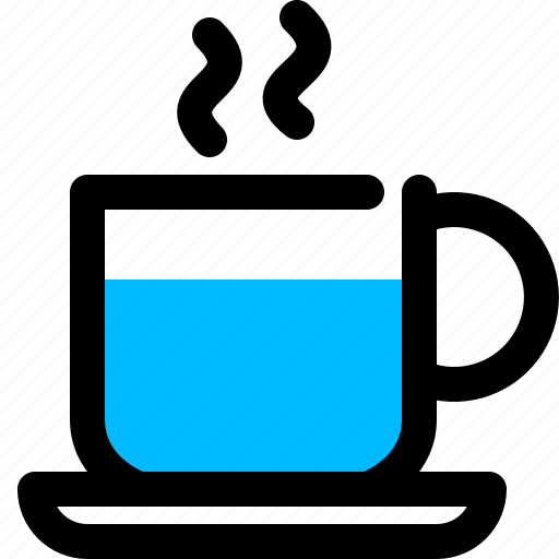 coffee, cup, hot, teacup icon