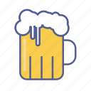 beer, beverage, drink, glass