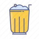 beverage, drink, float, ice