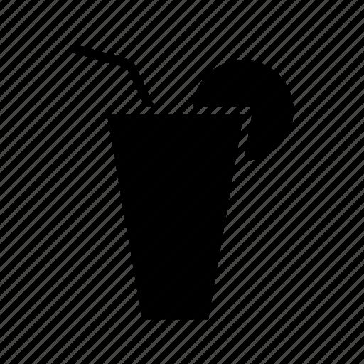 alcohol, beverage, cocktail, glasses, lemon icon