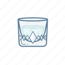 .svg, beverage, cocktail, drink, glass, water icon