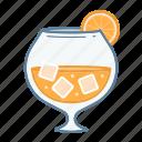 .svg, cold, glass, ice, juice, orange icon