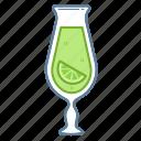 .svg, beverage, drink, glass, lemon, lime
