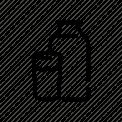 beverages, container, drink, milk icon