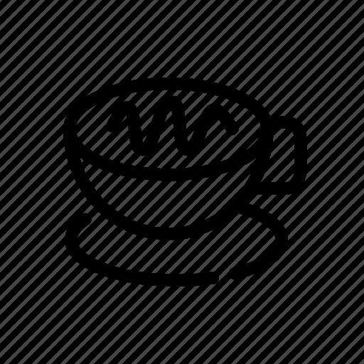 beverages, cappucino, coffee, latte icon