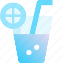 beverage, drink, juice, lemon, orange icon
