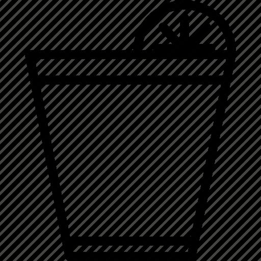 beverage, drink, glass, juice, lemon icon