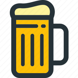 alcohol, beer, beverage, bottle, drink, glass, wine icon