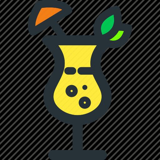 Cocktail, alcohol, beverage, drink, glass, juice, wine icon - Download on Iconfinder