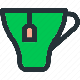 beverage, drink, herbal, hot, mug, tea icon