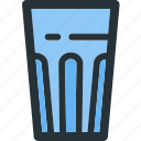 beverage, drink, drinks, foods, glass, water icon