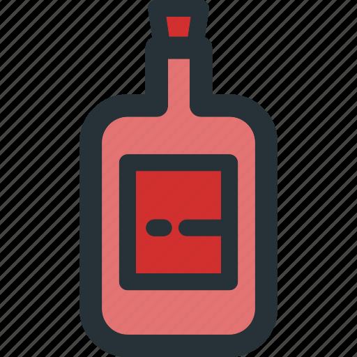 Bottle, alcohol, beverage, drink, food, glass icon - Download on Iconfinder
