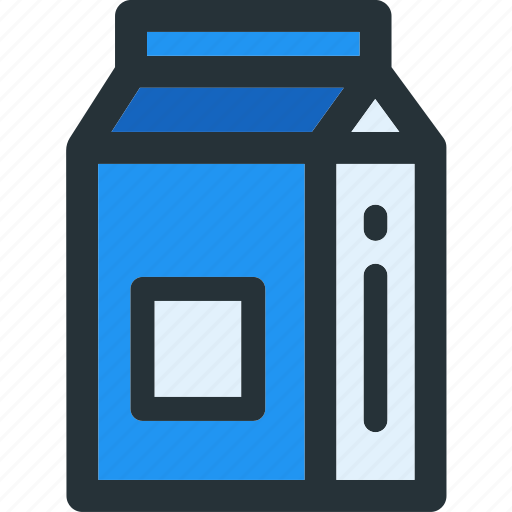 beverage, dairy, drink, milk, pack icon