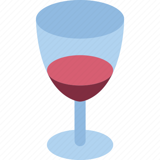 beverage, drink, glass, wine icon