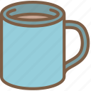 beverage, coffee, drink, mug icon