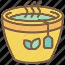 beverage, drink, mug, tea icon