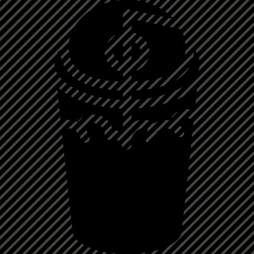 beverage, drink, slush icon