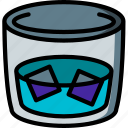 beverage, drink, tumbler icon