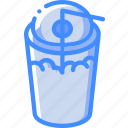 beverage, drink, slush icon