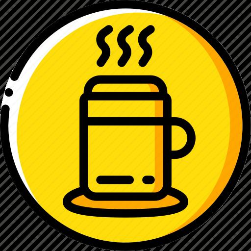 beverage, drink, mug icon